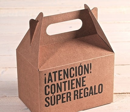 Kit de cajas de picnic frase regalo selfpackaging for Cajas de regalo de carton