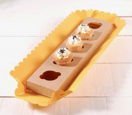 5 Mini Cupcakes