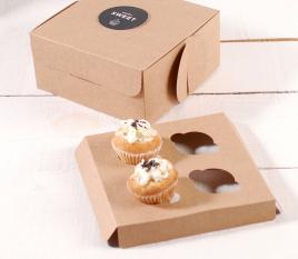 Holder 4 Mini Cupcakes