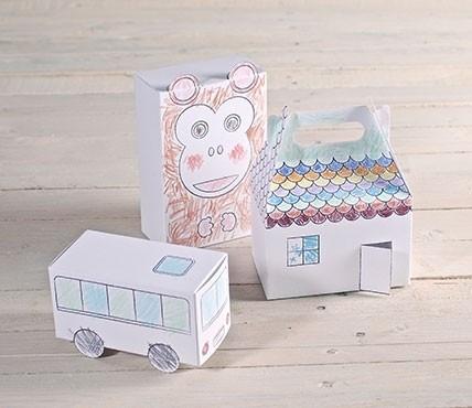 Kit di scatole da colorare