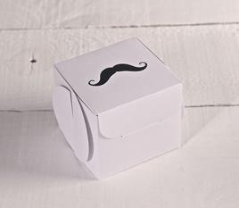 Cajas de regalo impresas. Bigotes