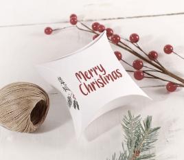 Scatola regalo di Natale per gioielli