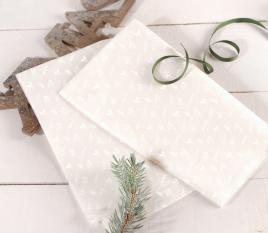 White tissue paper for gift