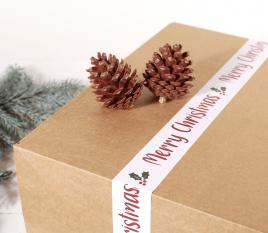 Precinto adhesivo de Navidad
