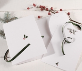 Christmas card folder