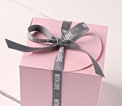 Nastro regalo WITH LOVE