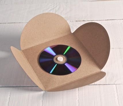 Botones de Espuma para CD (blanco)
