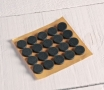 Adhesive Foam Buttons (black)