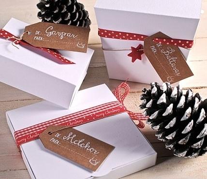 Etiquetas de regalo Reyes Magos