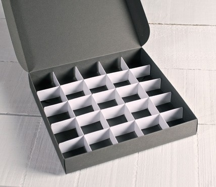 Truffle inserts - 25 compartments