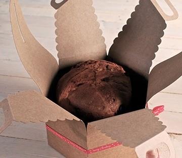 Caja para panettones