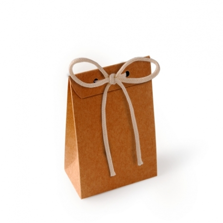 Ribbon tie card gift bag