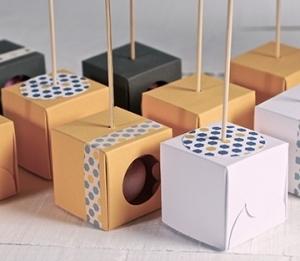 Individual cake pop box