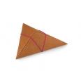 Tiny triangular gift box