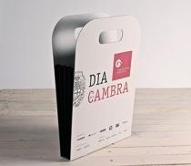 Bolsa de cartón con fuelle