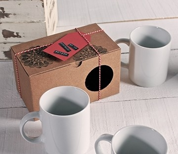 Simple box for mugs