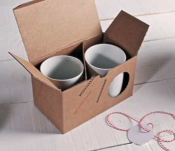 Box for two mugs