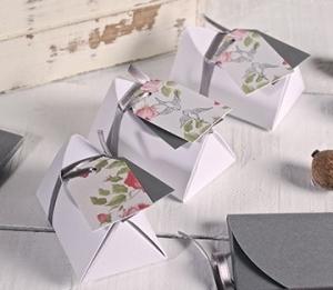 Caja pequeña para detalles de boda