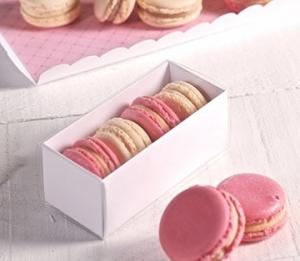 Rectangular macaron boxes
