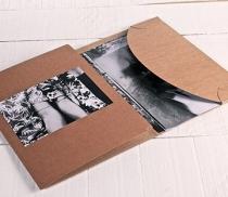 Cartella in cartone per foto e CD