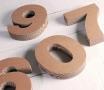 Numeri in cartone