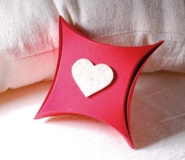 Caja regalo San Valentín con corazón