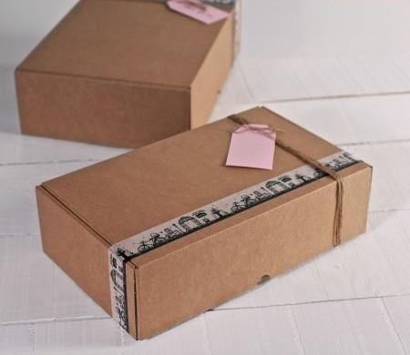 Scatola in cartone per spedizioni