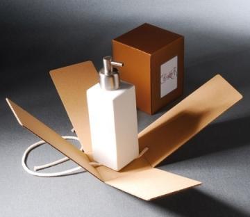 Cajita vertical para regalo de empresa