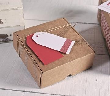Cajas para envíos cuadradas