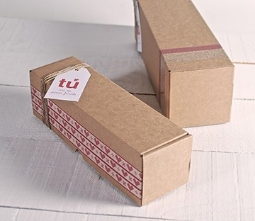 Rectangular postal boxes