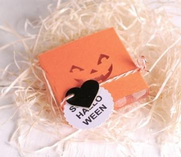 Caja sonrisa calabaza para Halloween