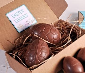 Cajas de cartón para huevos de chocolate
