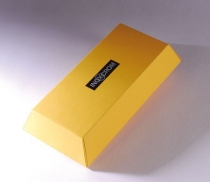 Ingot gift box with sleeve