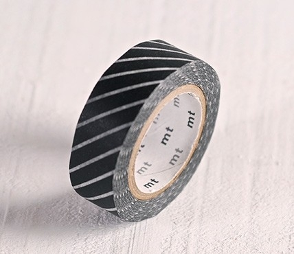 Washi tape black lines
