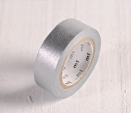 Washi Tape MT Plateado