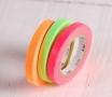 3 washi tapes colori fluorescenti