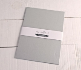 Silberfarbene Karten A4