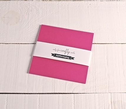 Fuchsia cards 16.5x16.5 cm