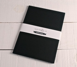 A4 black cards