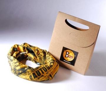 Bolsa regalo con etiqueta para tiendas