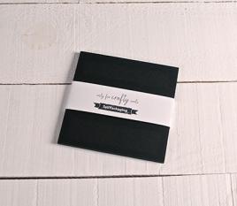 Schwarze Karten 16,5 x 16,5 cm