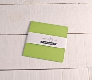 Pistacchio green cards 16.5x16.5 cm