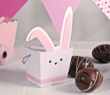 Rabbit shaped boxes