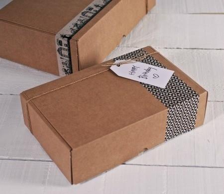 Cajas automontables para envios