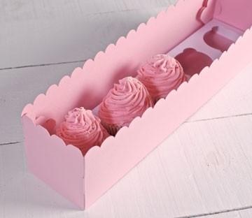 Cajas para cinco cupcakes