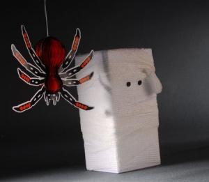 Caja de regalo para Halloween - Momia