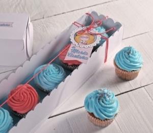 Scatola rettangolare per cupcake