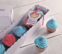 Caja para 5 cupcakes