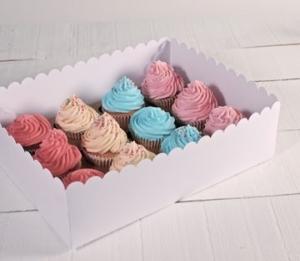 Scatola alta per 12 cupcake