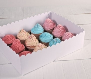 Tall cupcakes boxes for 12 cakes